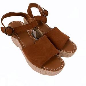 UNIVERSAL THREAD espadrille platform sandal 10